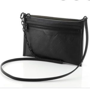 Rare Authentic leather crossbody bag